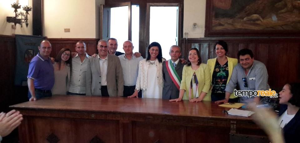 Pontecorvo / Il sindaco Rotondo conferisce gli incarichi ai consiglieri di maggioranza