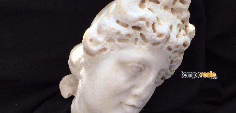 """Formia / """"I volti svelati"""", la mostra sul recupero e il restauro dei reperti archeologici dell'Edificio Ottagonale"""