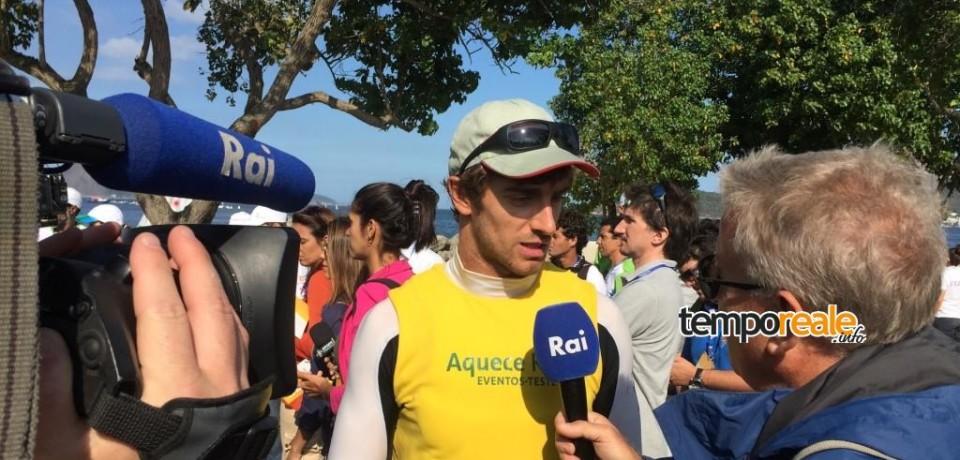 Gaeta / Il laserista della Fiamme Gialle Francesco Marrai vince il test event olimpico nelle acque di Rio