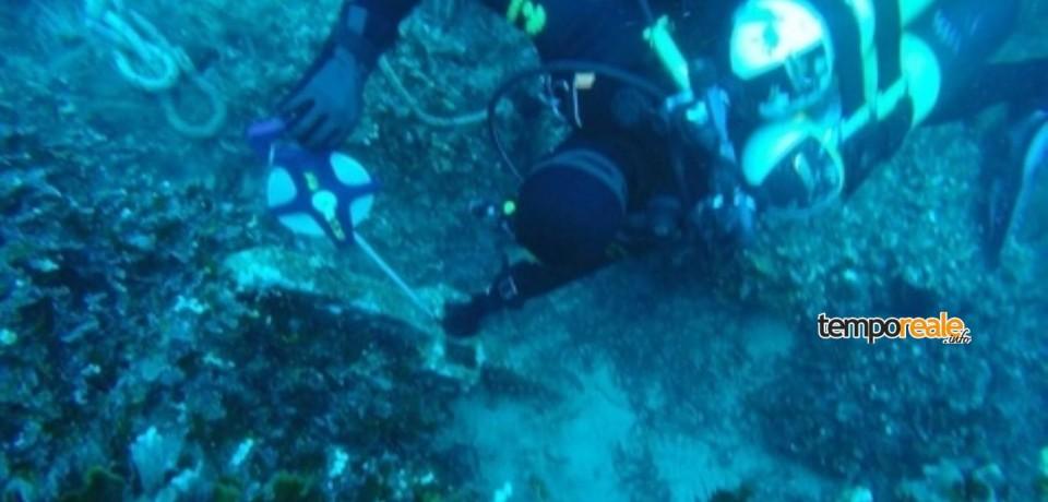 Ponza / Furto di un'ancora romana, intervengono i sub dei Carabinieri