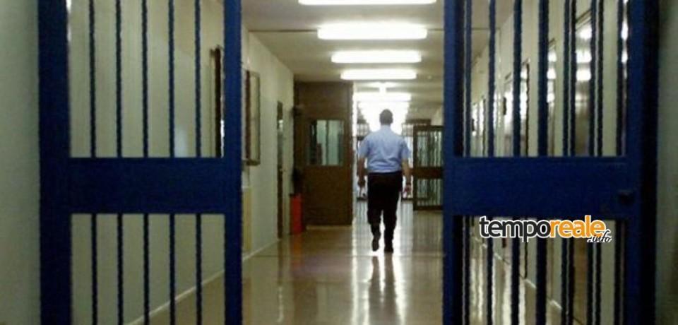 Frosinone / Un uomo si presenta al carcere, pensava di essere arrestato. Per lui solo una denuncia