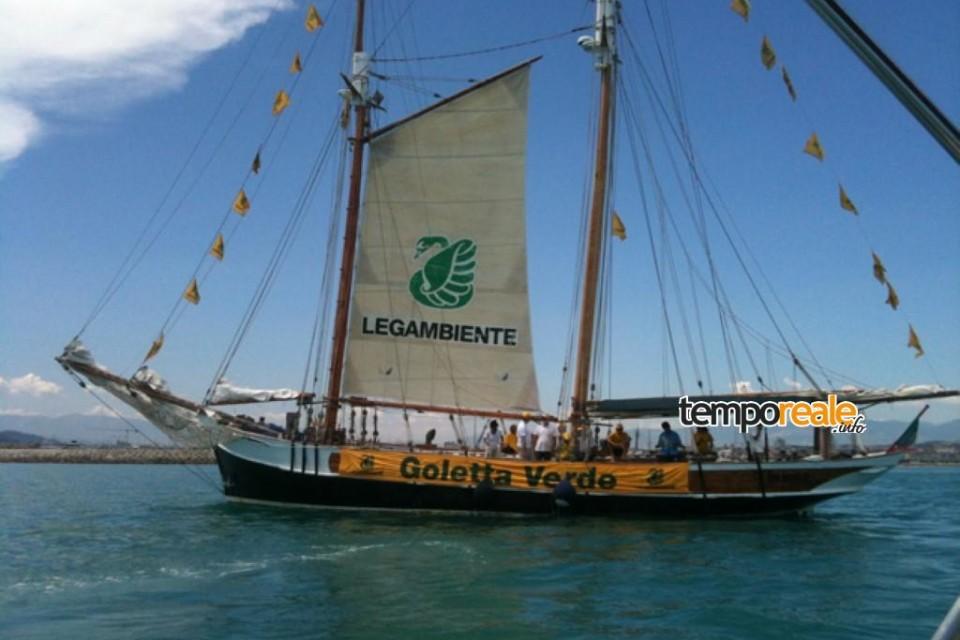 Goletta Verde, in provincia di Latina diversi punti inquinati nel mare