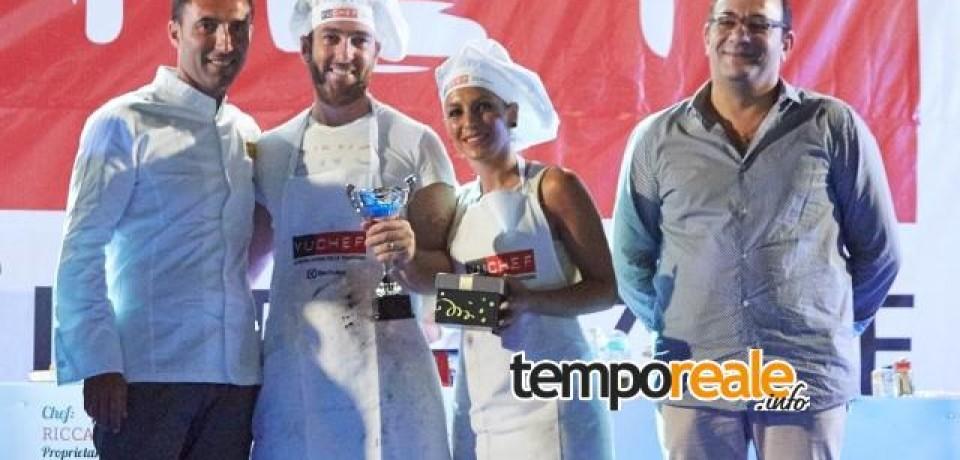 Fondi / Yuchef, il Premio Torpedino è andato a Giovanni Addessi e Sara