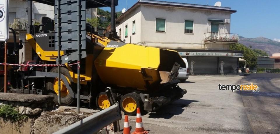 Cassino / Terminati i lavori di rifacimento in Via Sferracavalli