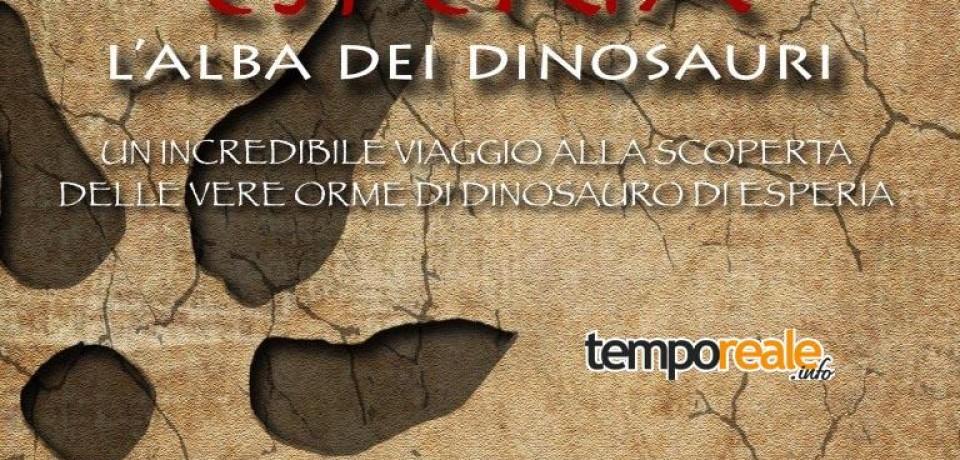 """Esperia / """"L'alba dei dinosauri"""" e le altre iniziative culturali dell'associazione Lestrigonia"""
