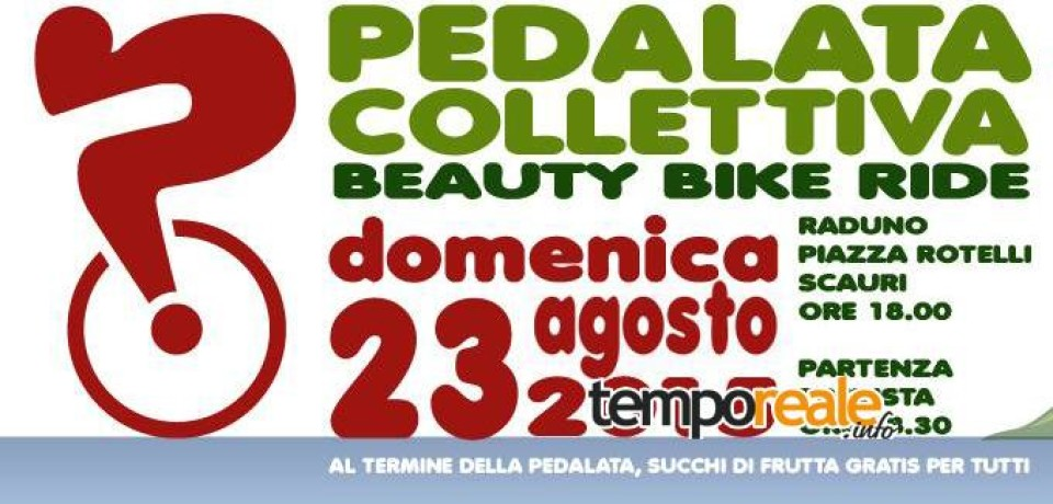 Scauri / Pedalata collettiva Beauty Bike Ride, per diffondere la bellezza del territorio