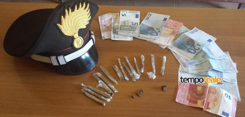 Cassino / Minorenne del posto arrestato per possesso e spaccio di hashish