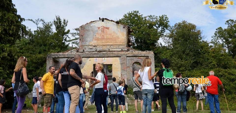 Alatri / Visita guidata al campo Le Fraschette, grande successo di pubblico