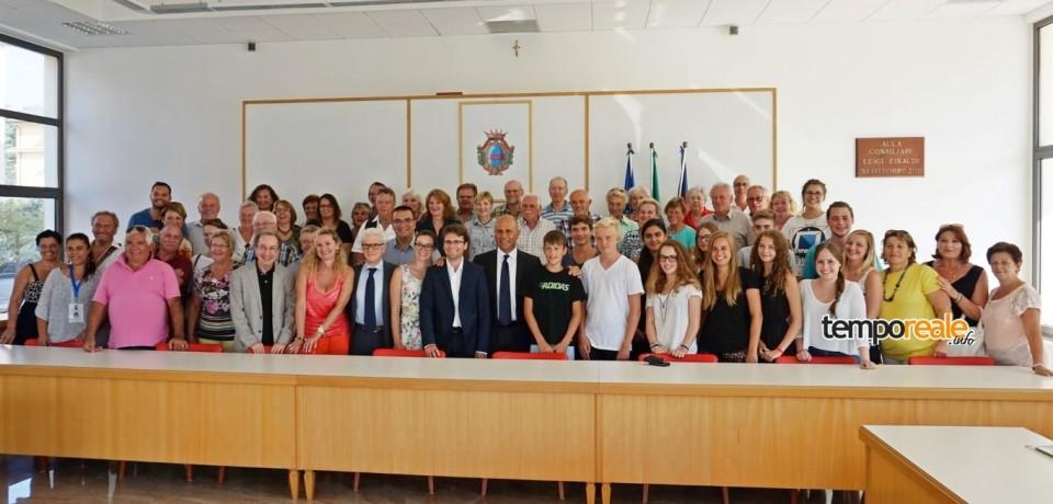 Fondi / Gemellaggio con Dachau, oggi la delegazione in visita al Laghetto degli Alfieri