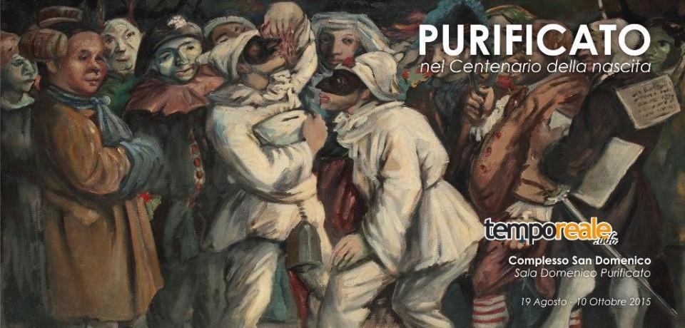 Fondi / Mostra di Domenico Purificato, porte aperte agli studenti fino al 10 ottobre