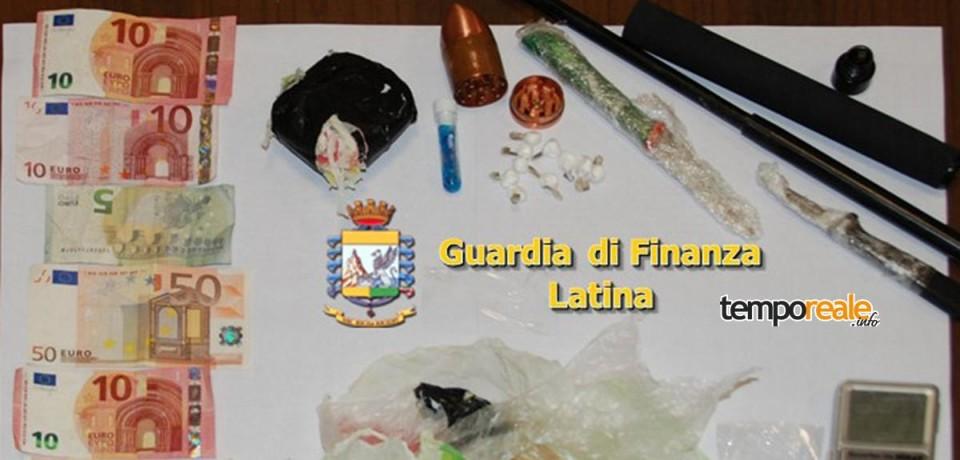 Fondi / Arrestato dalle Fiamme Gialle spacciatore trovato con 120 grammi di cocaina