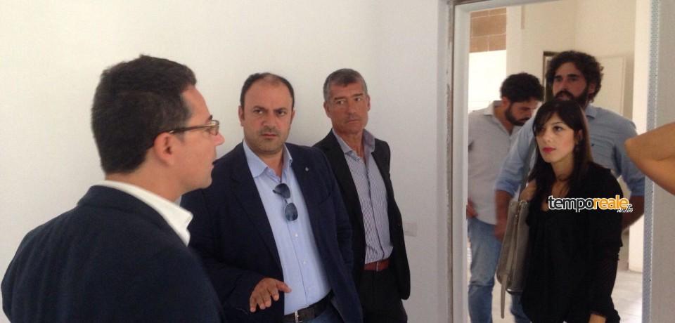 Cassino / La Provincia consegna nuove aula all'Istituto Alberghiero San Benedetto