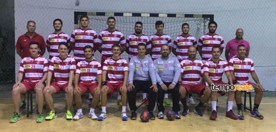 Pallamano / La Lupo Rocco Gaeta Sporting Club festeggia ad Enna con la prima vittoria