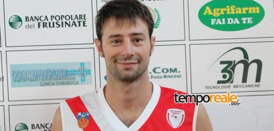 """Basket / Guido Violo torna al Gaeta Serapo 85′: """"Essere qui mi riempie d'orgoglio"""""""