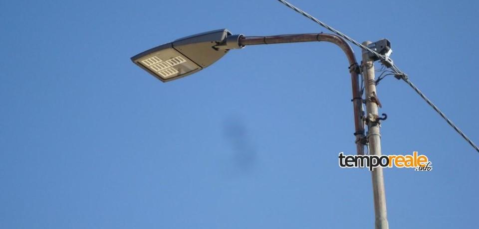 Lenola / Arrivano i nuovi lampioni a Led a basso consumo energetico
