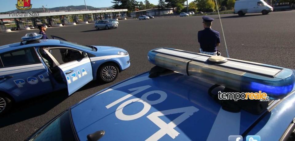 Cassino / Polizia arresta quattro pluripregiudicati serbi dopo un rocambolesco inseguimento sulla A1