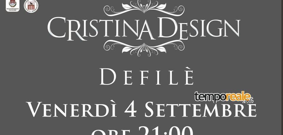 Pontecorvo / Di scena la moda e l'estro con la sfilata dell'Atelier Cristina Design