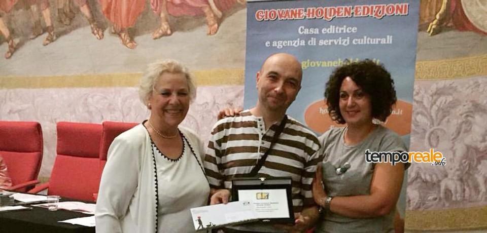 Gaeta / Alessandro Izzi vince il Premio per racconto inedito alla IX edizione del Premio Letterario Giovane Holden