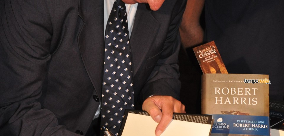 Formia / In corso incontro con Robert Harris, ieri visita a Gaeta