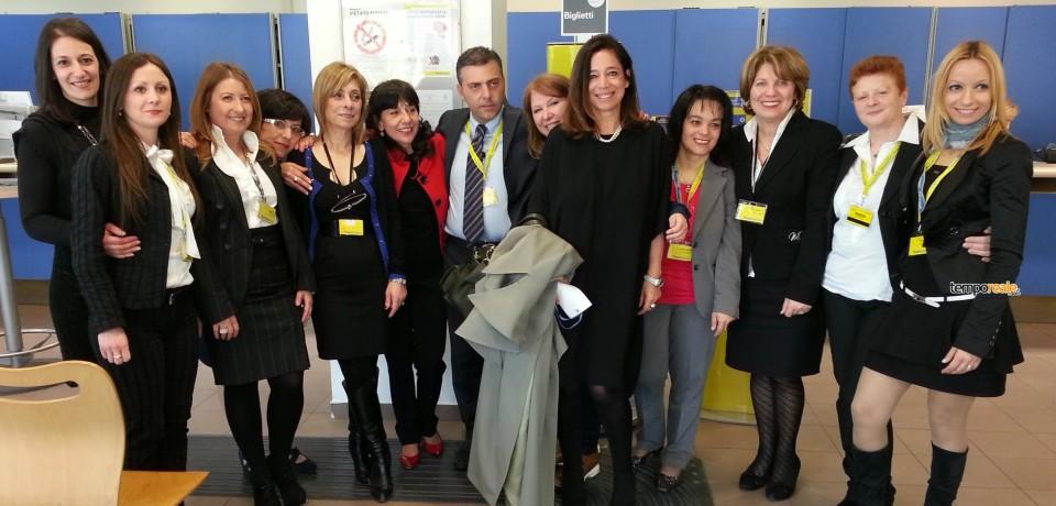 Premiato l'Ufficio Postale di Cassino Centro