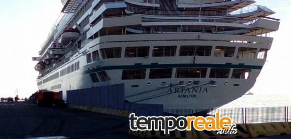 Gaeta / Crociere, mille turisti sbarcano al porto