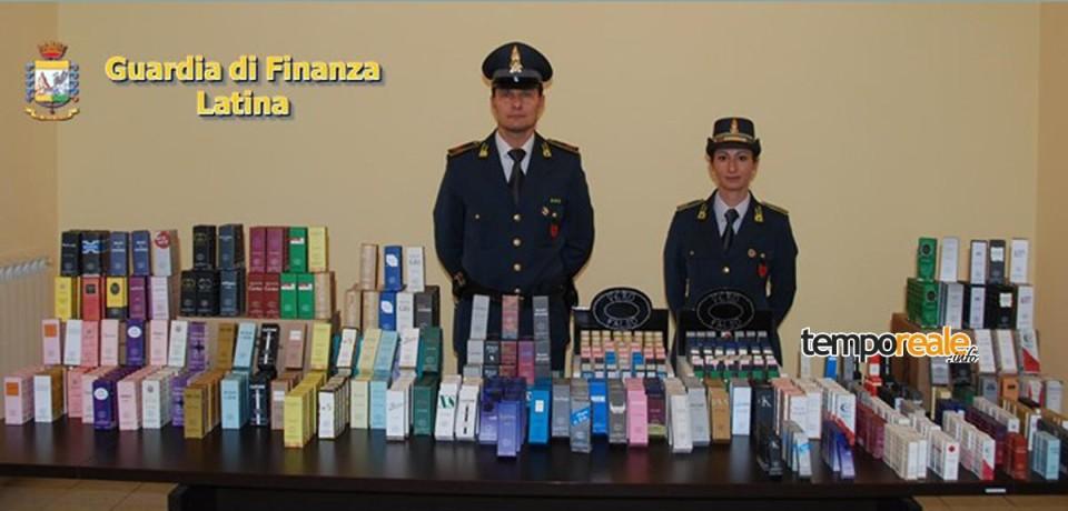 Fondi / La Guardia di Finanza sequestra 1000 profumi contraffatti