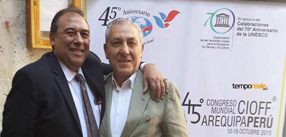 Minturno / Folklore, Francesco Mallozzi eletto Presidente della Commissione Legale del Cioff mondiale