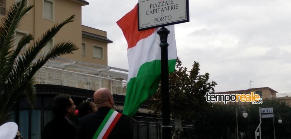 Minturno / Inaugurato il Largo Capitanerie di Porto sul Lungomare di Scauri
