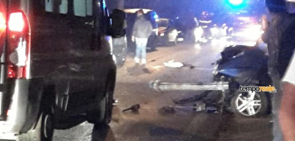 Minturno / Auto esce fuoristrada a San Marco, due feriti