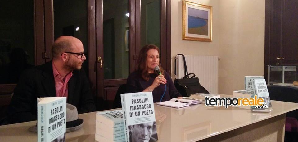 """A Pasolini, il calendario di eventi si è aperto con il libro di Simona Zecchi """"Pasolini, massacro di un poeta"""""""