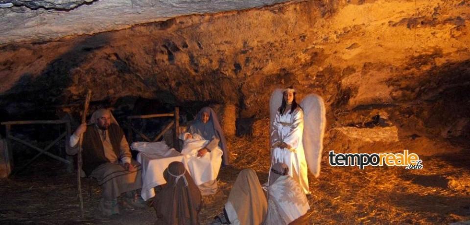 Terracina / Sabato prima rappresentazione del Presepe Vivente