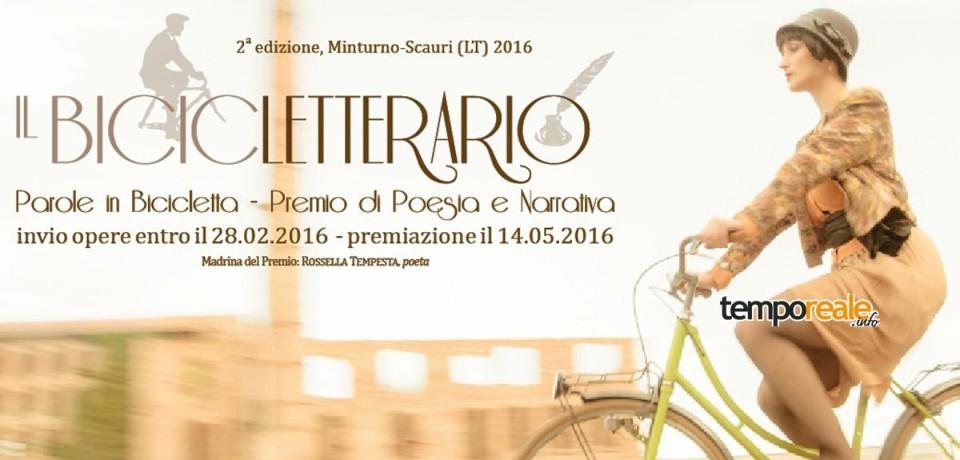 Minturno / Bicicletterario, 30 giorni alla scadenza del bando nazionale che coniuga bici e scrittura