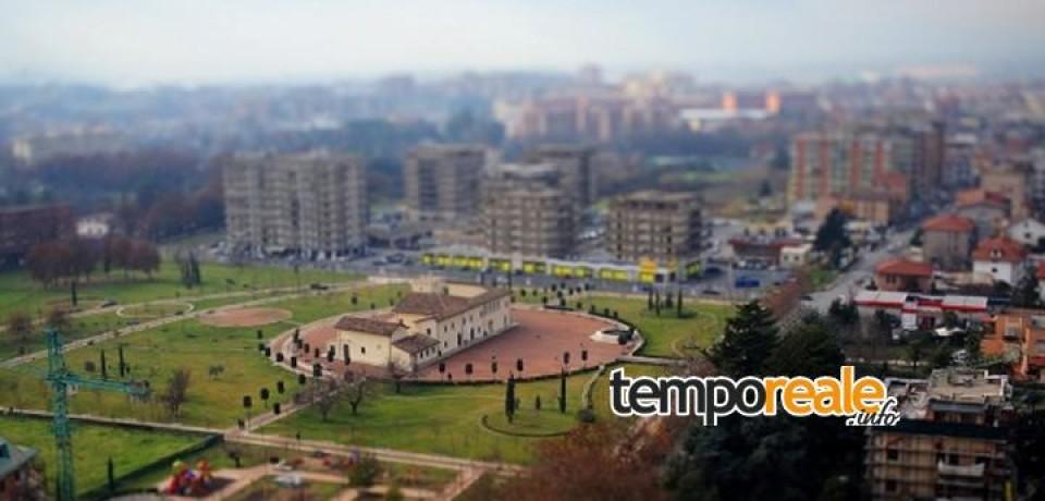 Frosinone / Villa comunale imbrattata, denunciati due minorenni
