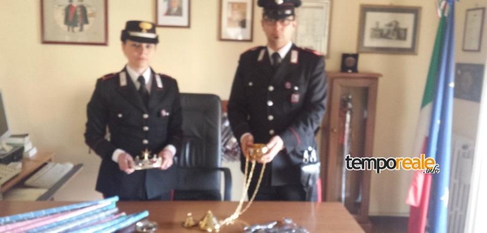 Furto sacrilego alla Chiesa della Madonna di Costantinopoli di Pinisco, due minorenni arrestati
