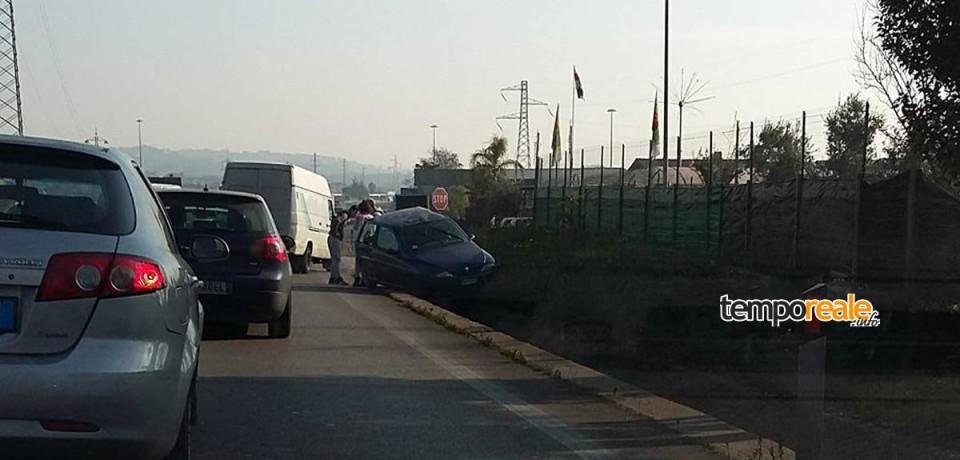 Formia / Tamponamento sulla superstrada, traffico in tilt