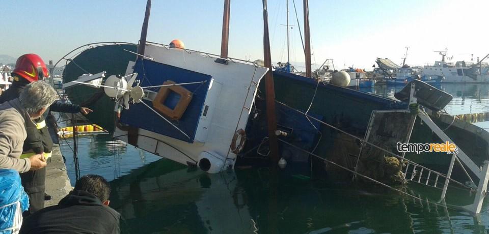 Formia / Peschereccio Uragano affondato a causa di una falla, le Indagini