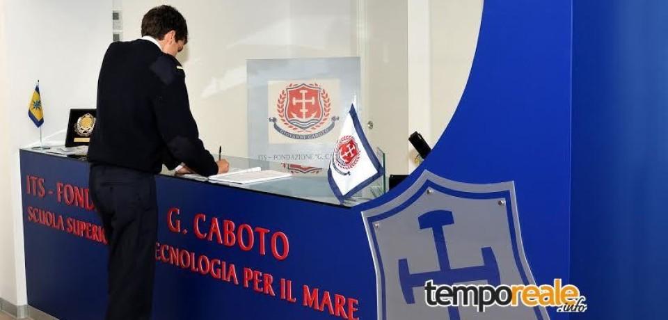 Gaeta / Al via i corsi dell'ITS Fondazione Caboto: verranno assunti 50 allievi