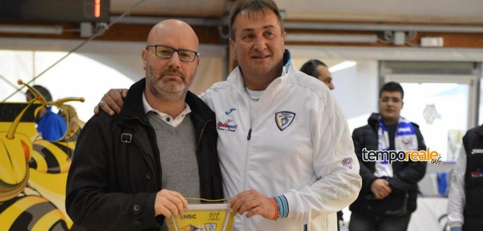 Minturno / Il Commissario Strati alla gara amichevole Virtus Roma-Basket Scauri