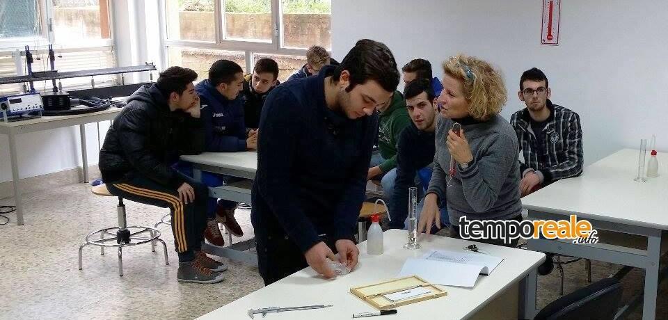Santi Cosma e Damiano / Open Day, l'Itis Pacinotti apre le porte per l'orientamento degli studenti