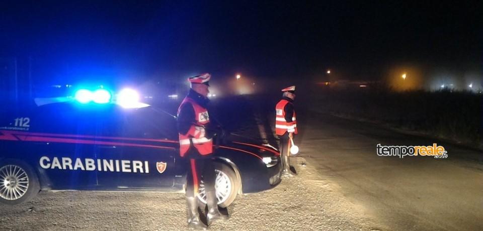 Gaeta / Alla guida con la droga: 5 denunciati nel weekend