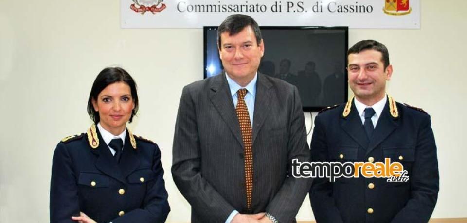 Cassino / Cambio ai vertici del Commissariato e della Questura di Frosinone