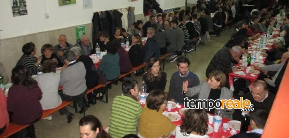 """Coreno Ausonio / Progetto """"Taco"""": successo per la cena di beneficenza organizzata dall'Azione Cattolica"""