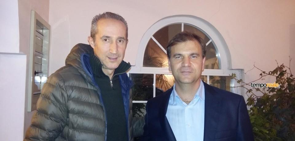 Terracina / Armando Cusani e Pino Simeone in città per Gianluca Corradini sindaco