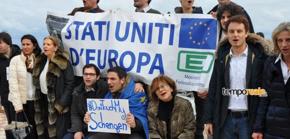 """Ventotene / """"Schengen, Schengen"""", i federalisti intonano Beethoven per Renzi"""