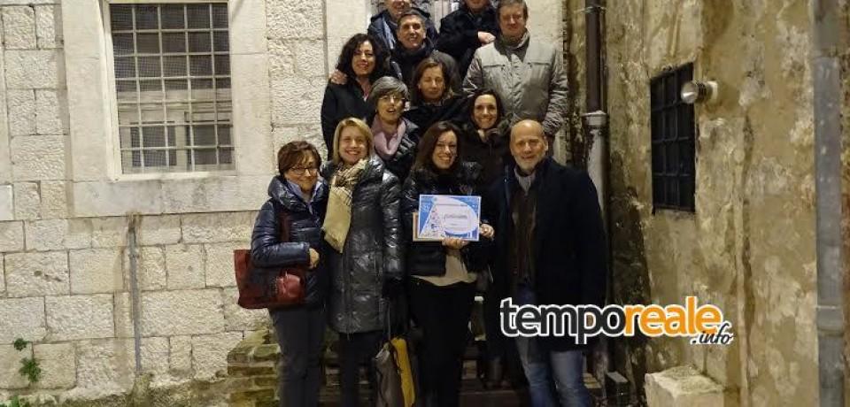 """Atina / Premiata l'associazione """"L'impegno"""" per il presepe galleggiante sul fiume Cosa"""