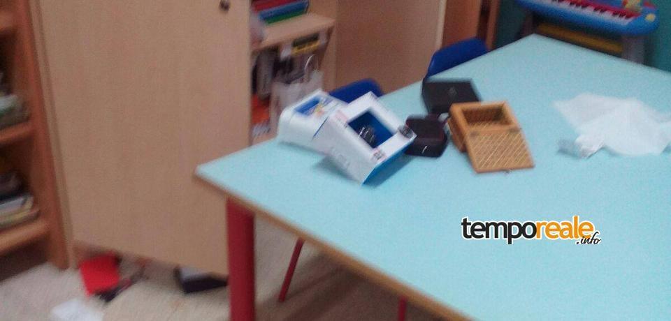 Minturno / Raid vandalico alla Scuola dell'Infanzia: rubati colori e libri dei bambini