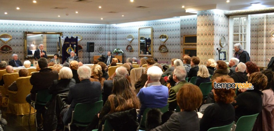 Formia / Il Lions Club impegnato sui temi della Giustizia in un convegno con Bruno Ferraro