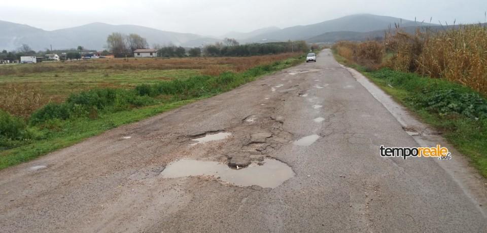 Fondi / Il M5S segnala le pessime condizioni di via Maginotti e richiede una riunione delle commissioni