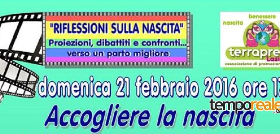 """Formia / """"Accogliere la nascita"""", domenica 21 febbraio l'incontro con l'associazione Terraprena"""
