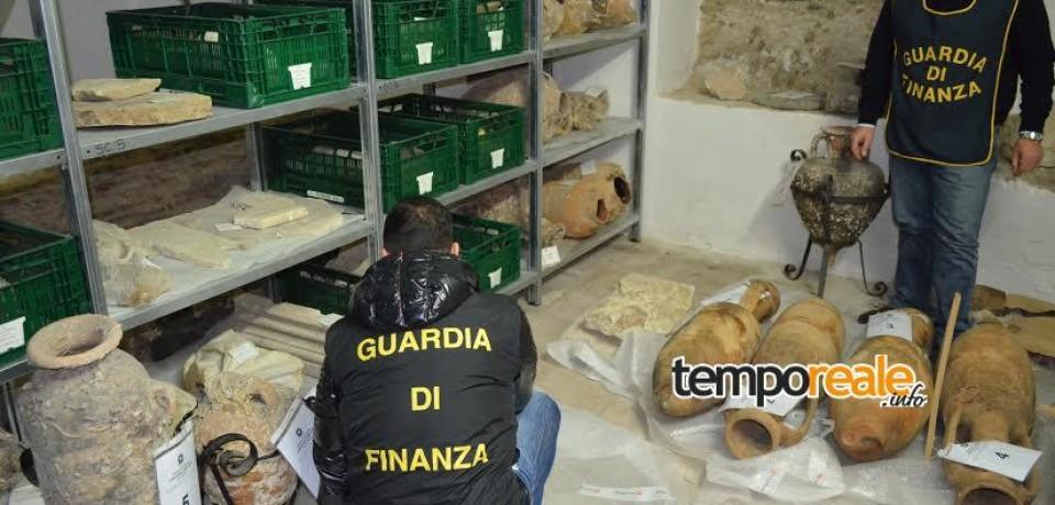 Terracina / Sequestrate otto anfore di interesse archeologico